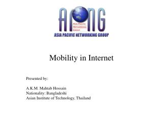 Mobility in Internet