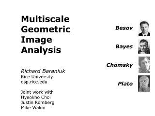 Besov Bayes Chomsky Plato