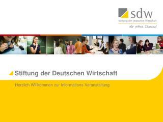 Stiftung der Deutschen Wirtschaft