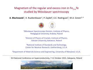 Magnetism of the regular and excess iron in Fe 1+x Te  studied by Mössbauer spectroscopy