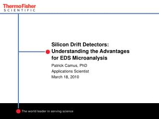 Silicon Drift Detectors: Understanding the Advantages for EDS Microanalysis
