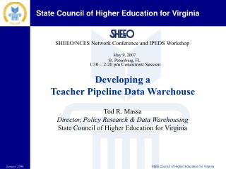 SHEEO/NCES Network Conference and IPEDS Workshop