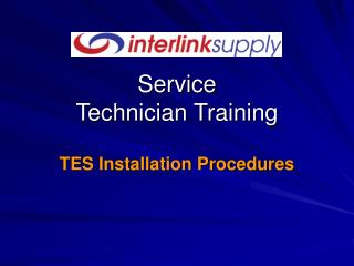 Service Technician Training