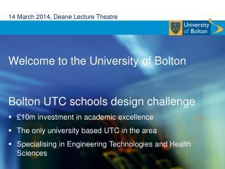 14 March 2014, Deane Lecture Theatre