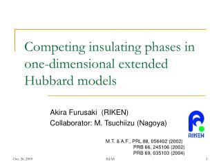 Competing insulating phases in one-dimensional extended Hubbard models