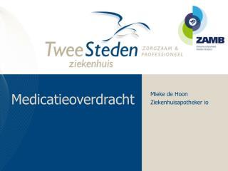 Medicatieoverdracht