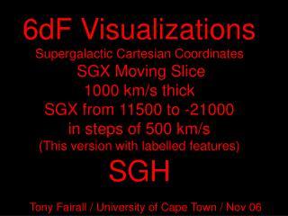 Tony Fairall / University of Cape Town / Nov 06