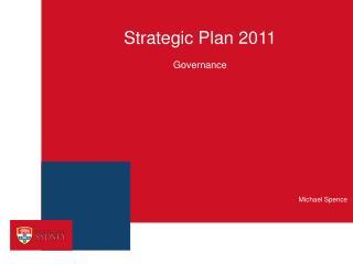 Strategic Plan 2011