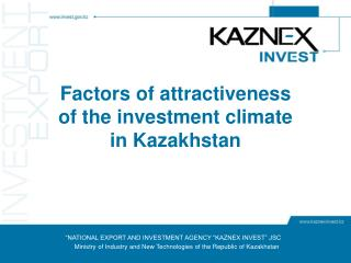 """NATIONAL EXPORT AND INVESTMENT AGENCY ""KAZNEX INVEST"" JSC"