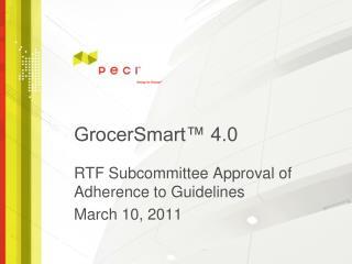 GrocerSmart� 4.0