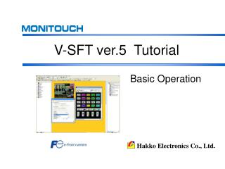 V-SFT ver.5  Tutorial