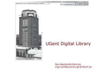 UGent Digital Library
