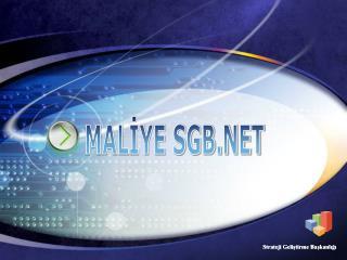 MALİYE SGB.NET