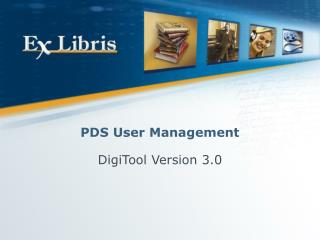 PDS User Management