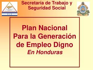 Secretaría de Trabajo y Seguridad Social