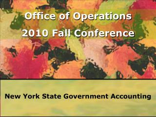 Bureau of  State Accounting Operations