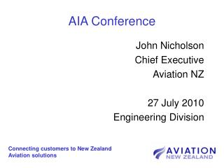 AIA Conference