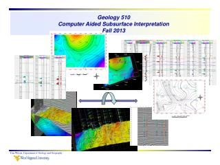 Geology 510 Computer Aided Subsurface Interpretation Fall 2013