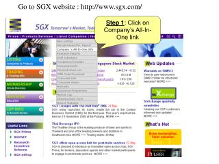 Step 1 : Click on Company's All-In-One link