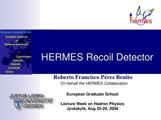 HERMES Recoil Detector