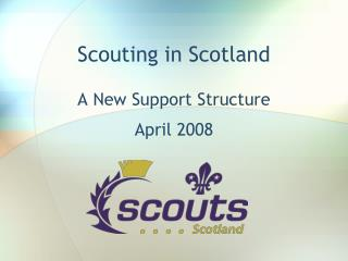 Scouting in Scotland