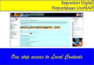 Repositori Digital  Perpustakaan UniMAP