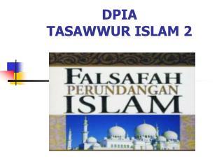DPIA TASAWWUR ISLAM 2