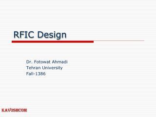 RFIC Design