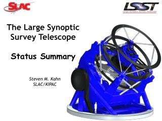 The Large Synoptic Survey Telescope  Status Summary