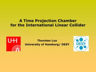 A Time Projection Chamber  for the International Linear Collider
