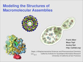 Modeling the Structures of  Macromolecular Assemblies