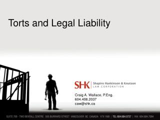 Torts and Legal Liability