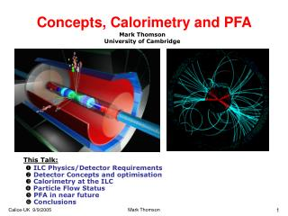 Concepts, Calorimetry and PFA