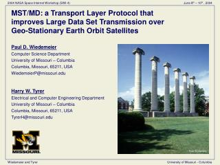 MST/MD: a Transport Layer Protocol that