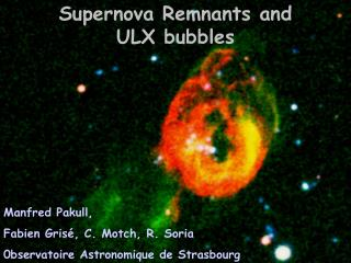 Supernova Remnants and  ULX bubbles