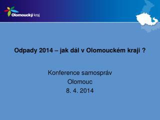 Odpady 2014 – jak dál v Olomouckém kraji ?