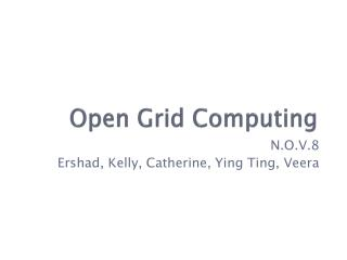 Open Grid Computing