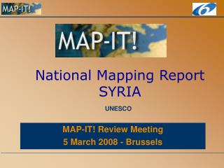 National Mapping Report SYRIA