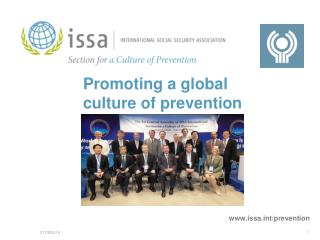 Promoting a global culture of prevention