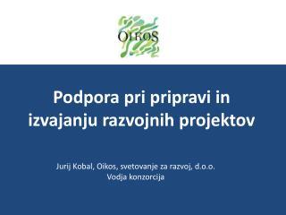 Podpora pri pripravi in izvajanju razvojnih projektov