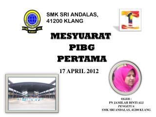 SMK SRI ANDALAS, 41200 KLANG