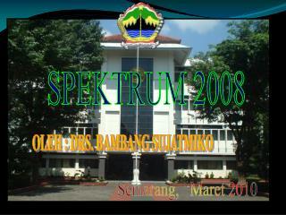 SPEKTRUM 2008