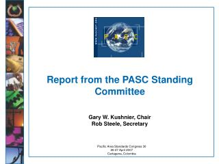 Report from the PASC Standing Committee