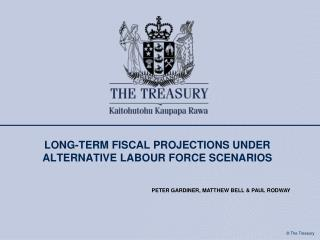 long-term fiscal projections under alternative labour force scenarios