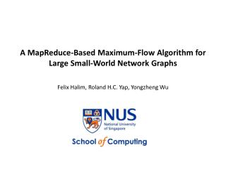 A MapReduce-Based Maximum-Flow Algorithm for Large Small-World Network Graphs