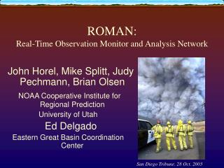 ROMAN: Real-Time Observation Monitor and Analysis Network