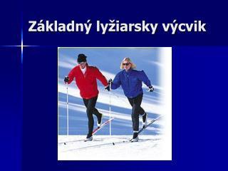 Základný lyžiarsky výcvik
