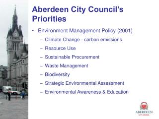 Aberdeen City Council's Priorities