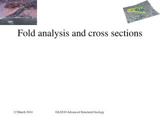 Fold analysis and cross sections