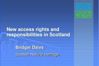 New access rights and   responsibilities in Scotland